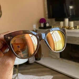 LeSpecs Reflective Frame Sunglasses